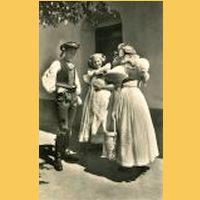 Líc pohlednice z roku 1942