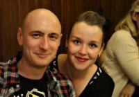 naši snoubenci David a Lucka