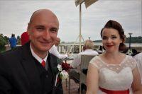 Spokojení novomanželé David a Lucka Procházkovi
