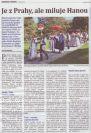 Třetí stránka měsíčníku Hanácké noviny – leden 2019